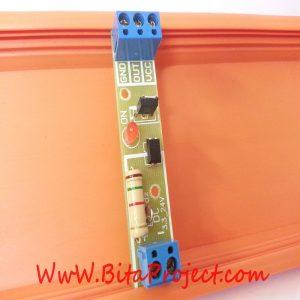 ماژول مبدل سطح ولتاژ 3/3 ولت تا 24 ولت DC تک کاناله ایزوله شده