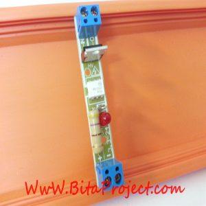 ماژول مبدل سطح ولتاژ 3/3 تا 18ولت DC به سطح ولتاژ 220 ولت AC تک کاناله ایزوله شده